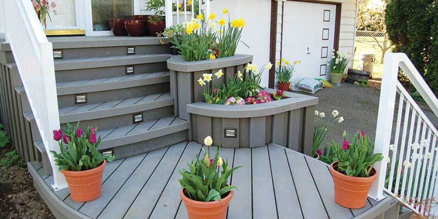 Highpoint Deck Lighting Recessed Step Fixtures
