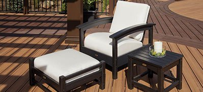Trex Outdoor Furniture Ottomans