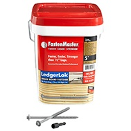 FastenMaster Ledger Board Deck Bolts