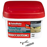 FastenMaster Stainless Steel Trim Screws