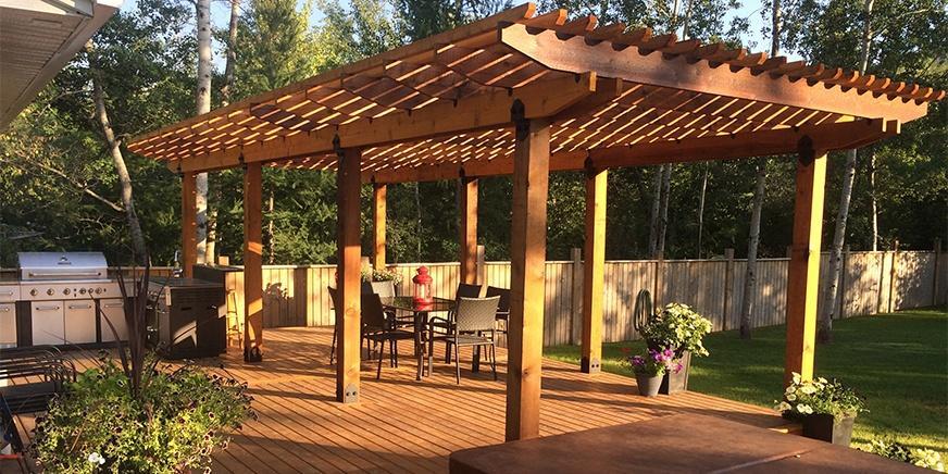 Ozco Building Products Laredo Sunset Ironwood Owt At