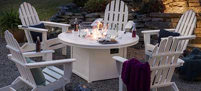 POLYWOOD Fire Pit Tables