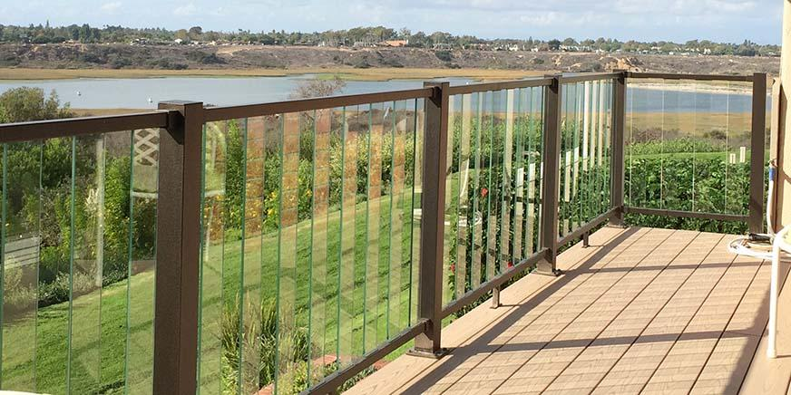 Fortress Pure View Glass Balusters
