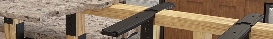 Rock Solid Countertop Mounting Accessories