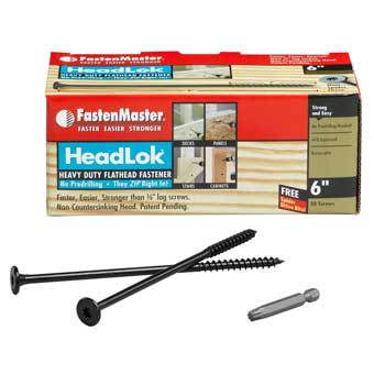 FastenMaster HeadLok Heavy Duty Wood Screws