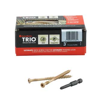FastenMaster Trio Deck Screws