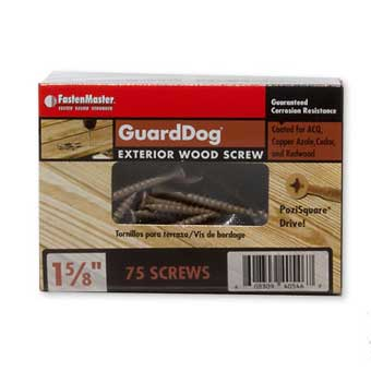 FastenMaster GuardDog Exterior Wood Screws