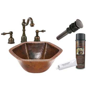 Premier Copper Products Sinks - Bathroom