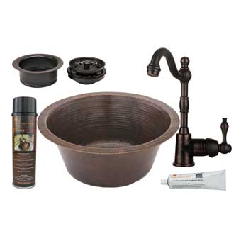 Premier Copper Products | Copper Bar Sinks | Copper Prep Sinks