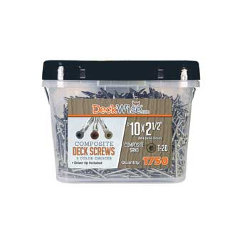 DeckWise Composite Deck Screws
