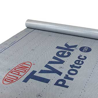 Tyvek Protec Roof Underlayment | Dupont Roof Protector