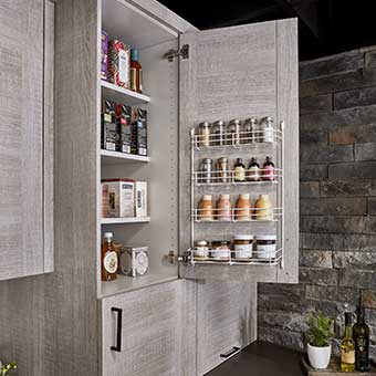 Kitchen Door Storage