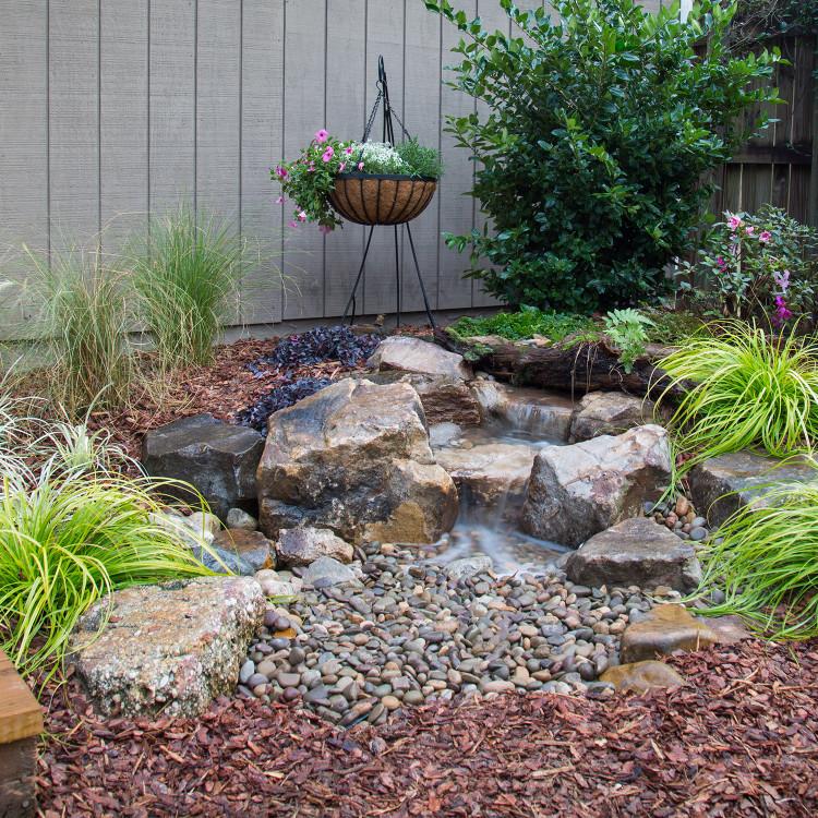 Backyard Waterfall Landscape Fountain Kit