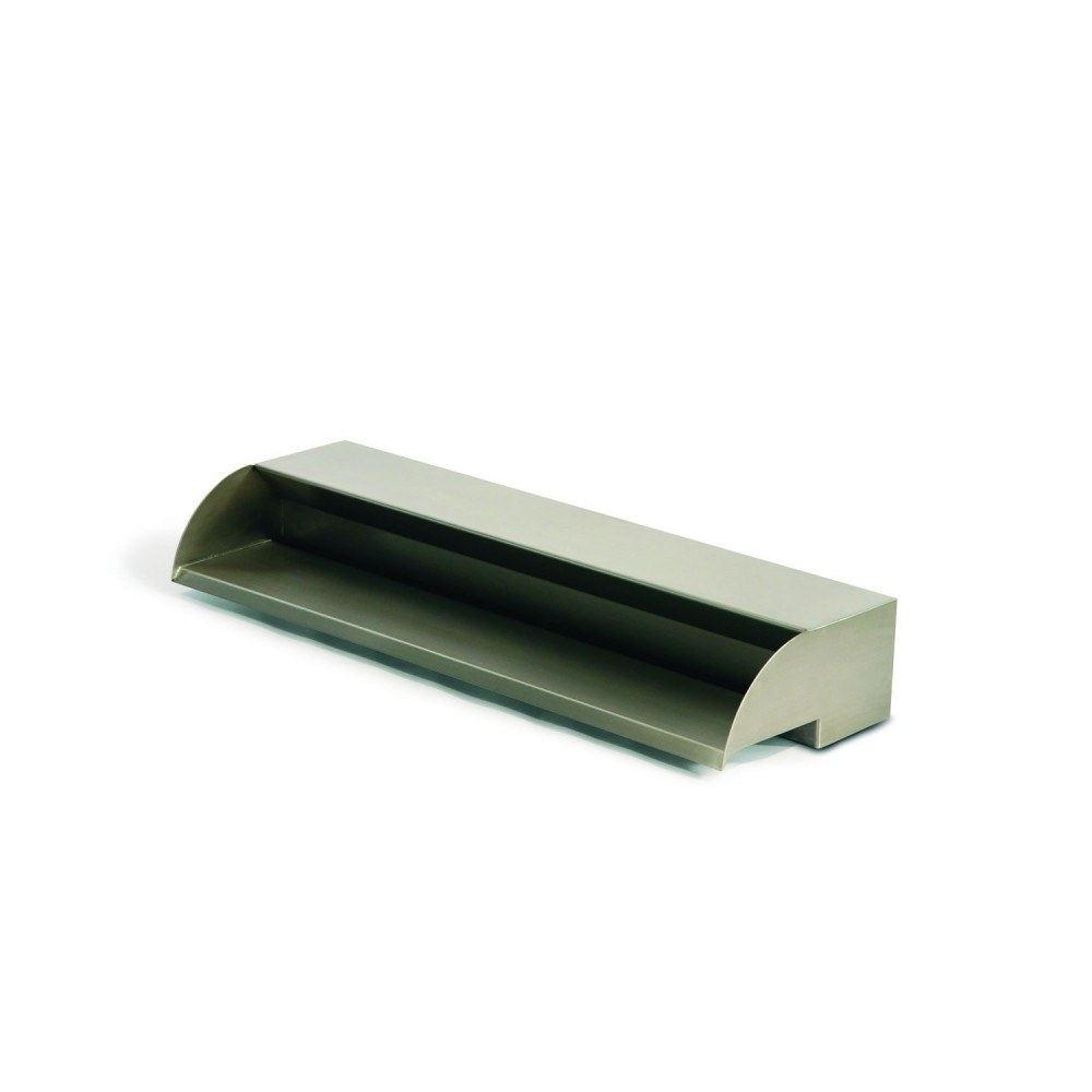 """No Light SS24 Atlantic ColorFalls 24/"""" Stainless Steel Scupper"""
