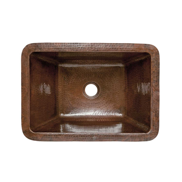 Rectangle Copper Bathroom Sink Premier Copper Products