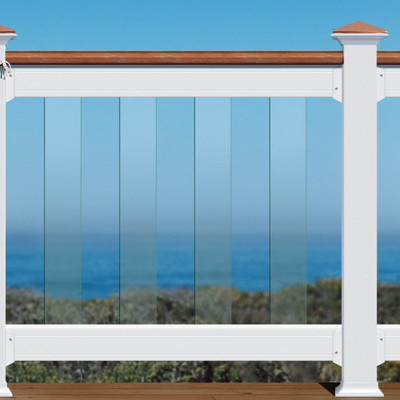 Deckorators Frontier Clear Glass