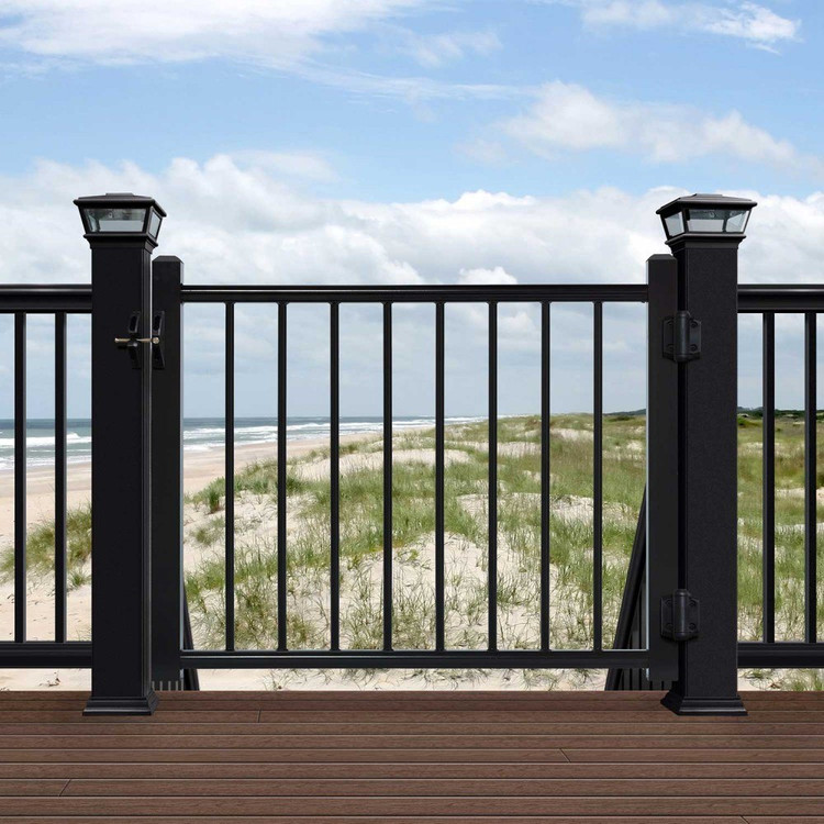 Deckorators Aluminum Gate Black