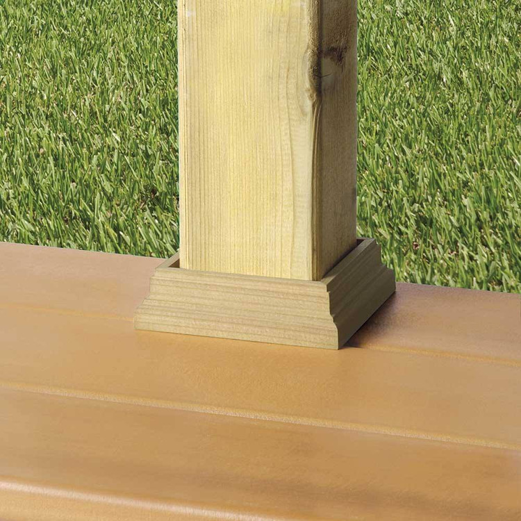 Deckorators Cedar Post Base Trim