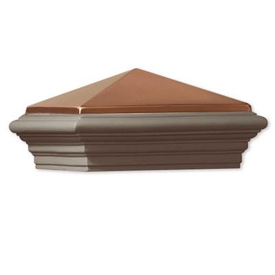 Deckorators Copper Cast Stone Post