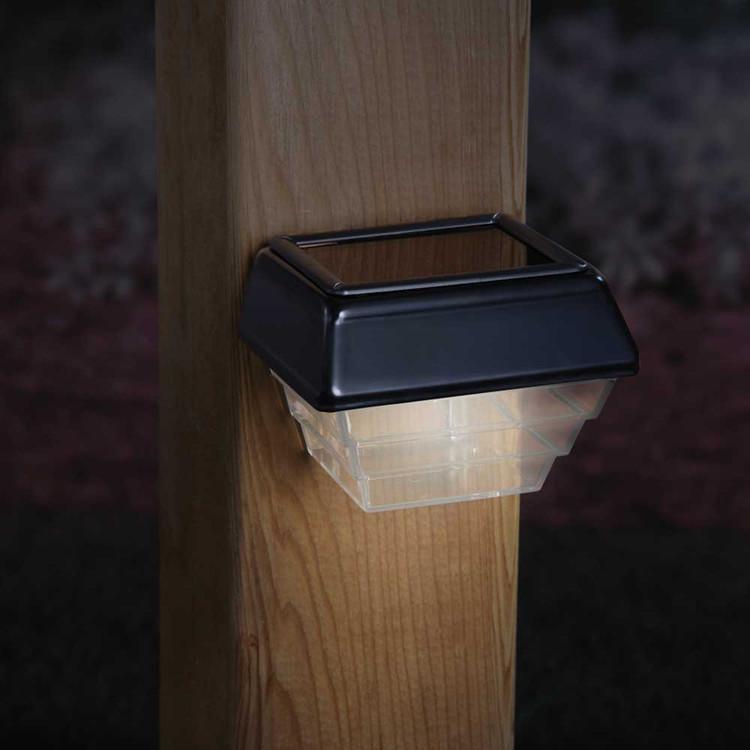 Stair Post Light: Solar Post Light And Stair Light