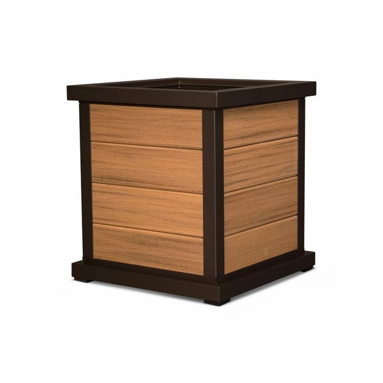 "Trex Furniture Cube 24"" Planter 4"