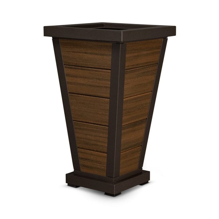 "Trex Furniture Pyramid 18"" Planter"