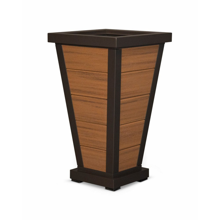 "Trex Furniture Pyramid 18"" Planter"