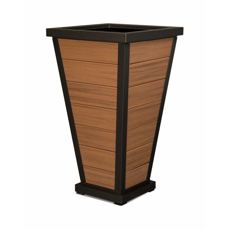 "Trex Furniture Pyramid 24"" Planter"