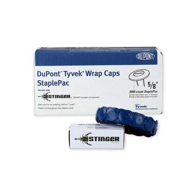 Tyvek Wrap Caps Staplepac 3 8 Quot Dupont