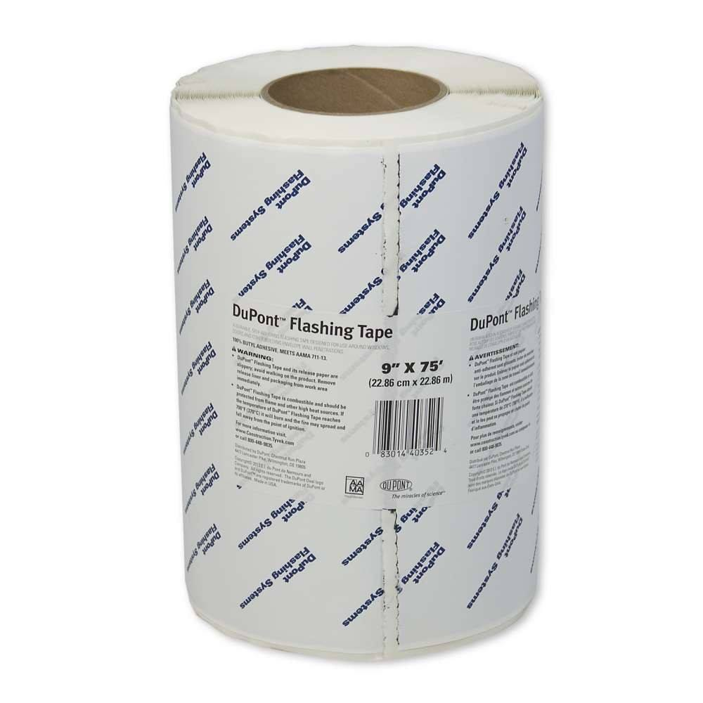 "4/"" x 150/' DuPont Tyvek StraightFlash Single-Sided 1 Roll"
