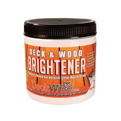 DeckWise Wood and Deck Brightener