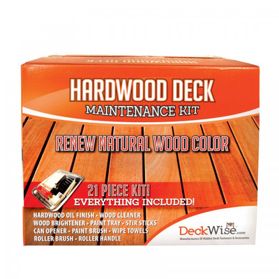 DeckWise Hardwood Deck Restoration