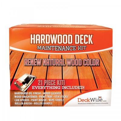 DeckWise Hardwood Deck Restoration