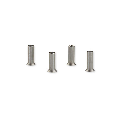 WiseRail Stainless Steel Post Protector Tubes - 4 Pack