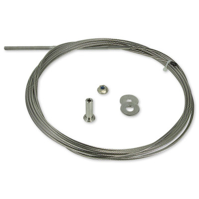 """CableRail Standard Assembly for Wood Posts - 1/8"""" Cable - 20'"""