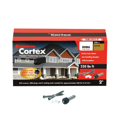Cortex for Koma Trim - 250 Linear Feet