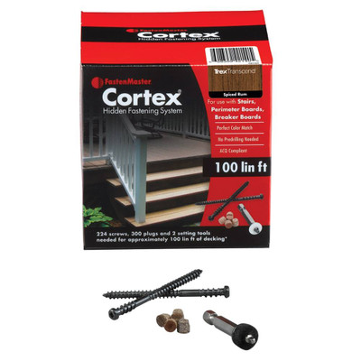 """FastenMaster Cortex 2-1/2"""" Trex"""