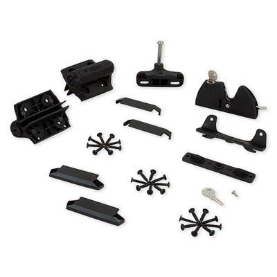 Fortress Gate Kit #2 Latch, Hinge,