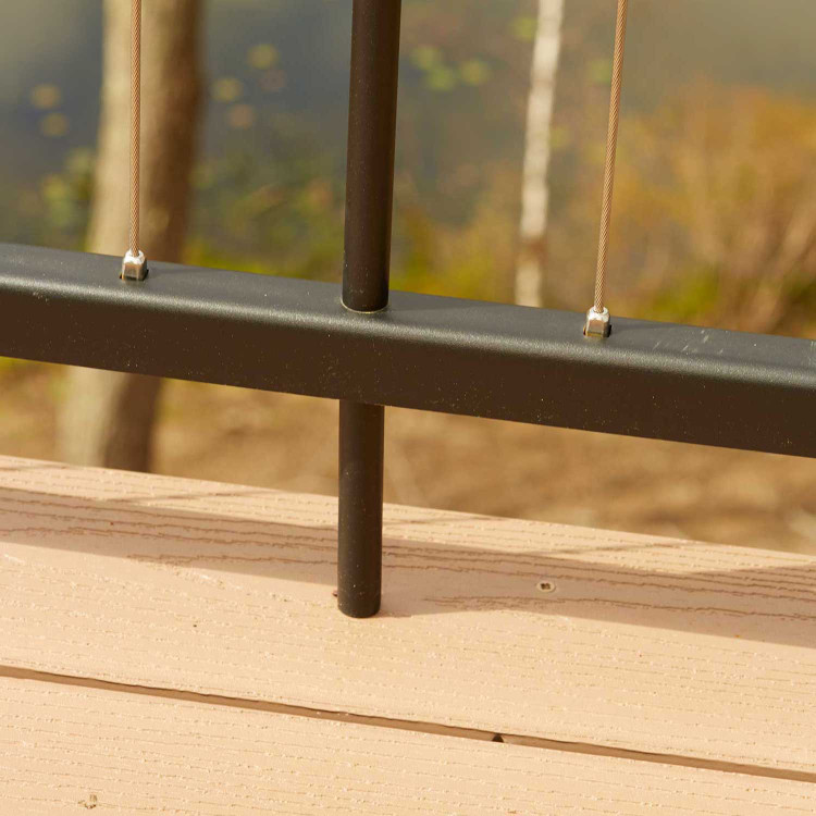 Fortress Cable Railing I Support