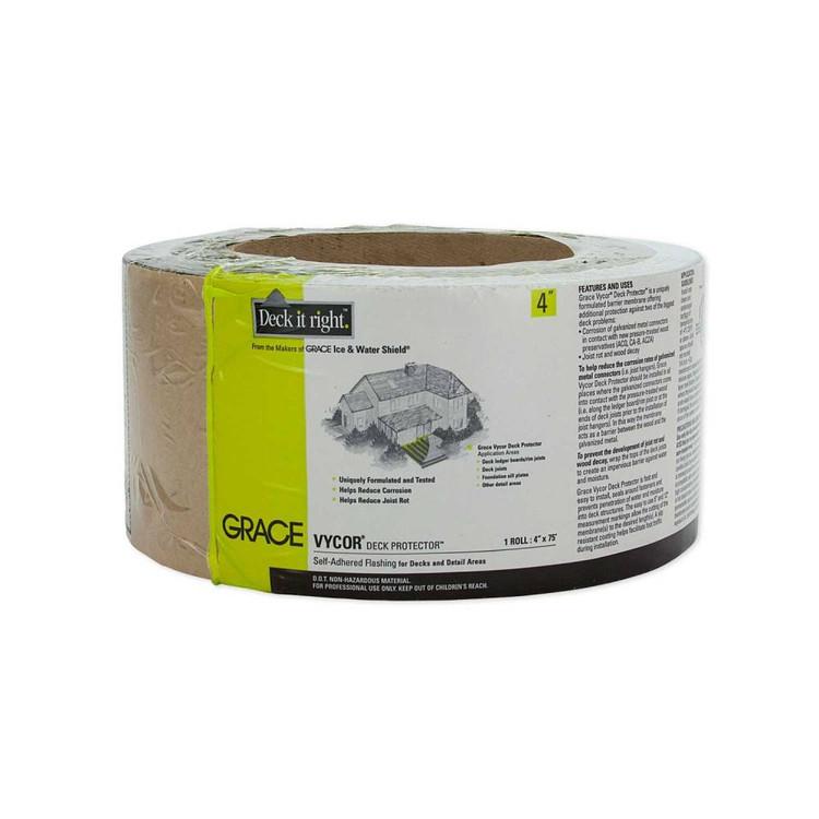 "Grace Vycor Deck Protector 4"" 75'"