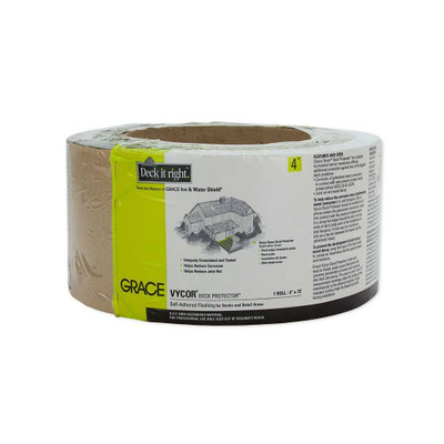 "Grace Vycor Deck Protector 4"" 75'"