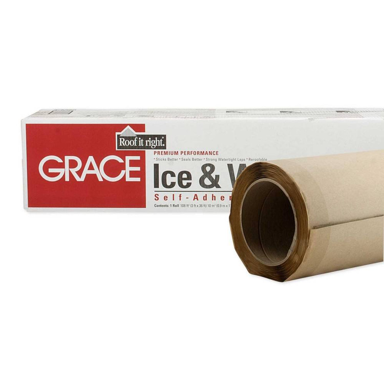Ice Amp Water Shield Roofing Underlayment 36 Quot X 36 Roll Grace