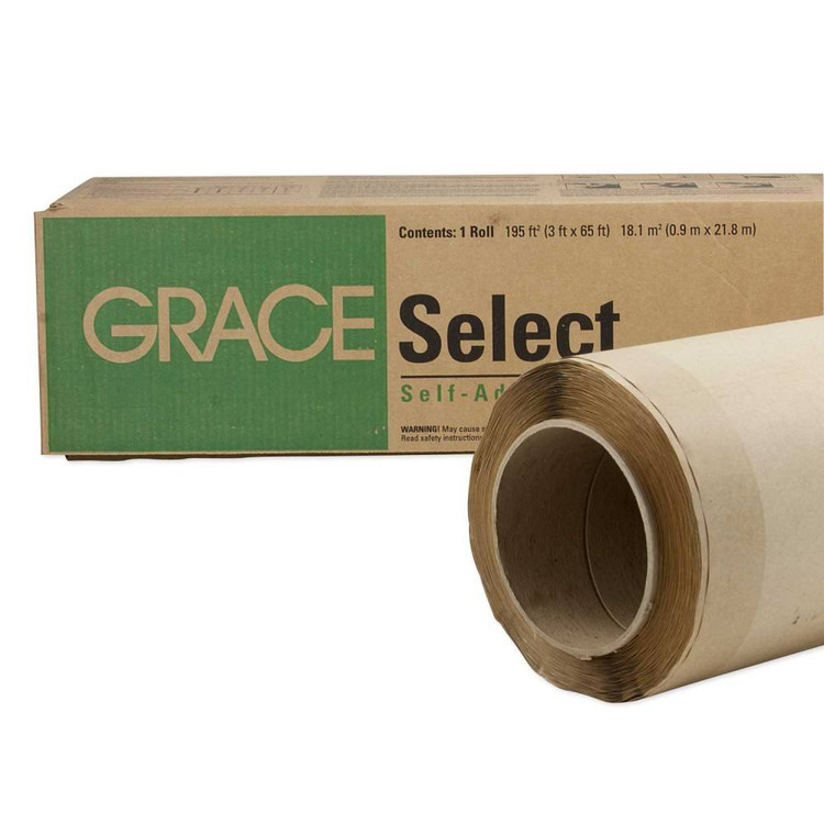 Select Self Adhered Roofing Underlayment 3 X 65 Roll