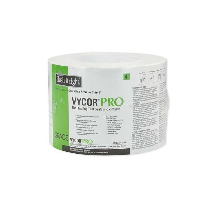 "Grace Vycor Pro Butyl Flashing 4"""