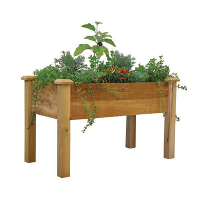 Gronomics Rustic Elevated Garden