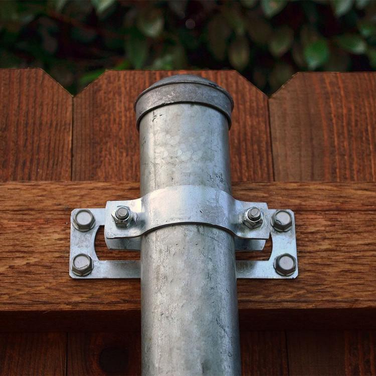 original split rail fence post