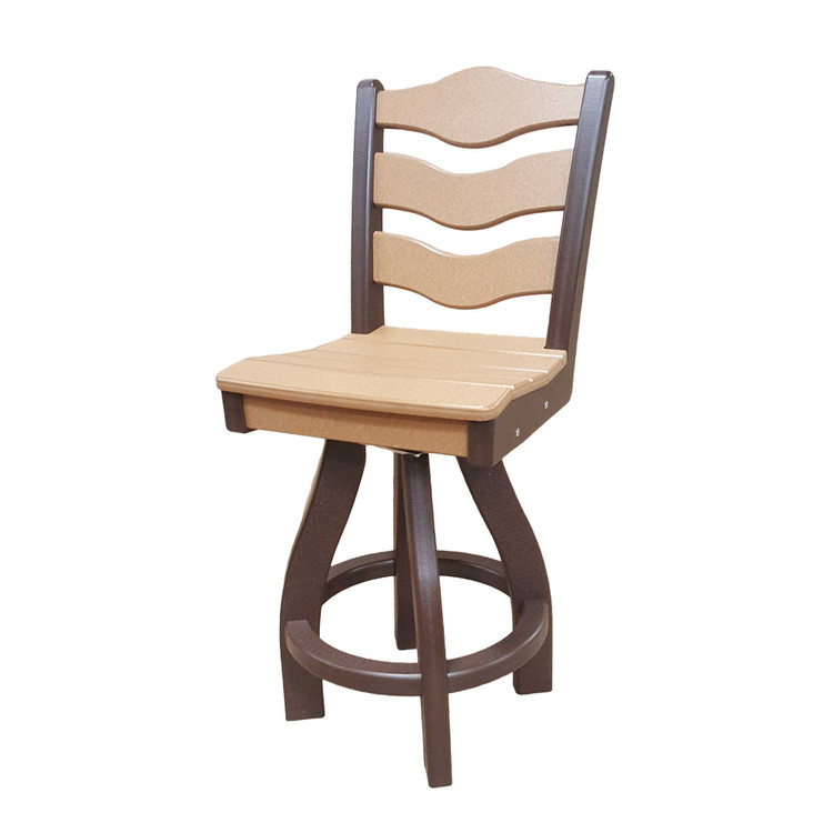 Traditional Swivel Counter Height Chair