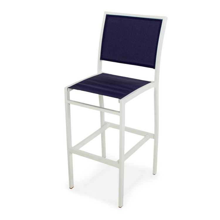 POLYWOOD Bayline Bar Side Chair