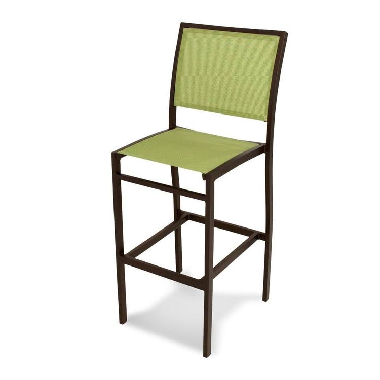 POLYWOOD Bayline Bar Side Chair