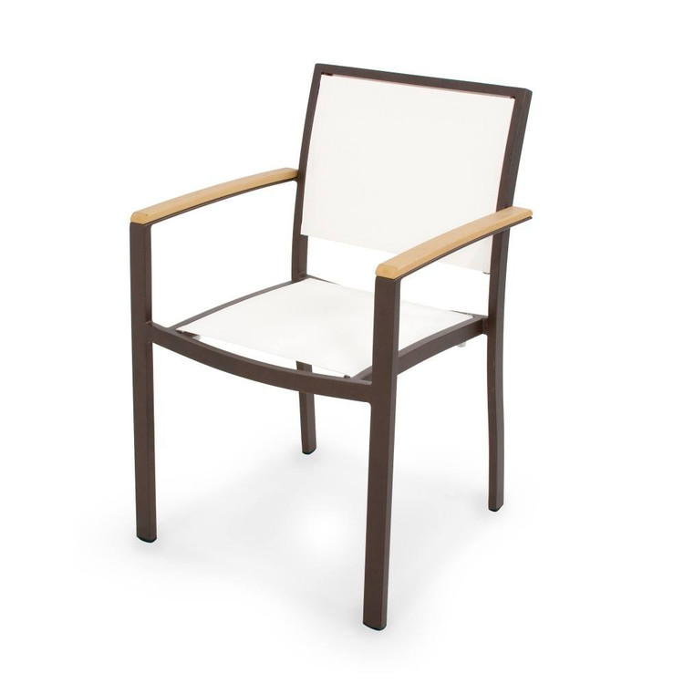 POLYWOOD Bayline Dining Arm Chair